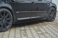 Seitenschweller Ansatz Passend Für Audi S4 / A4 / A4 S-Line B6 / B7 Carbon Look