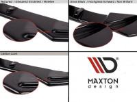 Front Ansatz Passend Für SEAT LEON III CUPRA / FR Carbon Look