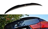 Spoiler CAP Passend Für BMW 4er F32 M-Performance Schwarz Hochglanz