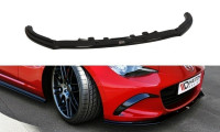 Front Ansatz Passend Für V.1 Mazda MX-5 IV Schwarz Matt