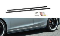 Seitenschweller Ansatz Passend Für Mazda 6 GJ (Mk3) Wagon Schwarz Matt