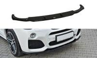 Front Ansatz Passend Für BMW X4 M Paket Carbon Look