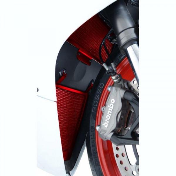 """R&G Racing Kühlergitter Set """"RED"""" Ducati Panigale 899 / 1199"""