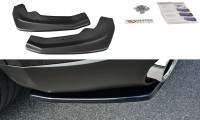 Heck Ansatz Flaps Diffusor Passend Für Alfa Romeo Stelvio Carbon Look