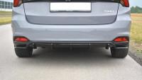 Diffusor Heck Ansatz Passend Für Fiat Tipo S-Design Carbon Look