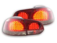 LED Rückleuchten Set VW Golf 6 Typ 1K Bj. 08- schwarz/rot