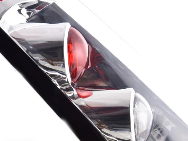 Rückleuchten Set Ford Fiesta Typ JH1 JD3 3-tr. Bj. 02-05 chrom