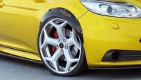 Kotflügelverlängerung Ford Focus ST Mk3 Schwarz Matt