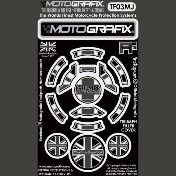 Motografix Tankdeckel Protektor Triumph Modelle TF03MJ