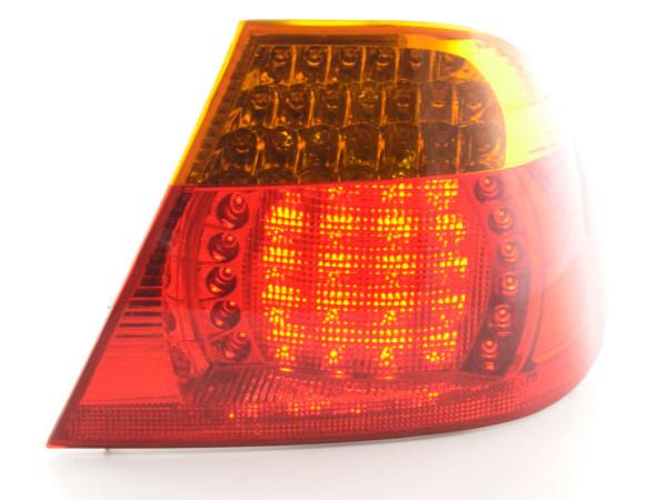 Verschleißteile Rückleuchte rechts BMW 3er Coupe Typ E46 Bj. 03-06, gelb/rot