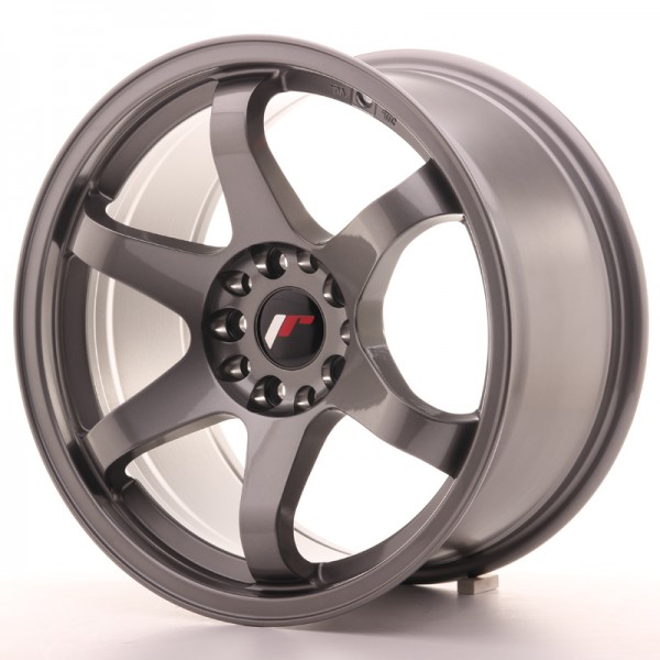 JR Wheels JR3 17x9 ET20 5x100/114 Gun Metal