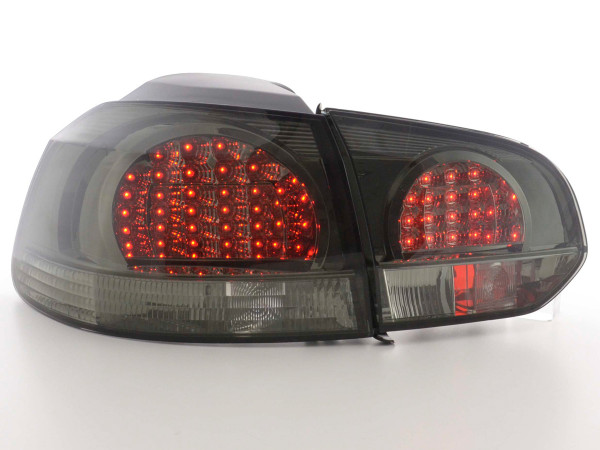 LED Rückleuchten Set VW Golf 6 Typ 1K Bj. 08- schwarz