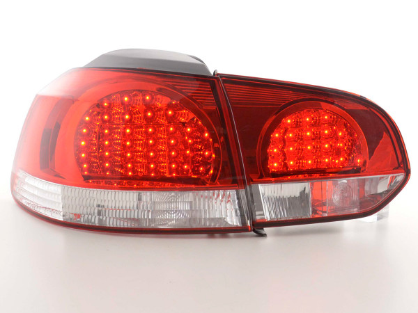 LED Rückleuchten Set VW Golf 6 Typ 1K Bj. 08- klar/rot