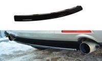 Mittlerer Diffusor Heck Ansatz Passend Für MAZDA CX-7 Schwarz Matt