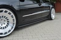 Seitenschweller Ansatz Für VW PASSAT CC STANDARD Schwarz Matt