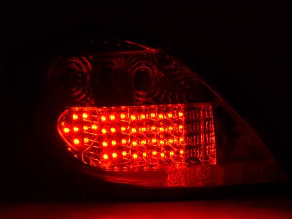 LED Rückleuchten Set Opel Astra H 5-trg Bj. 04- klar/rot