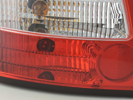 Rückleuchten Set Audi A6 Limo Typ 4B Bj. 97-03 rot/weiß