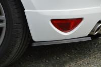 Heckansatz Seitenteile ABS für Renault Clio 3 GT / Gordini Ausführung: Matt schwarz