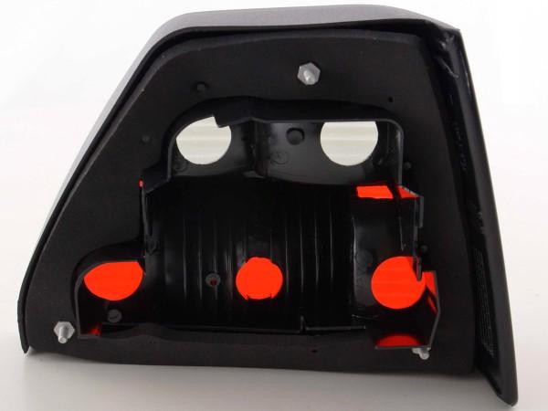 Rückleuchten VW Golf 2 Typ 19E Bj. 84-91 schwarz rot