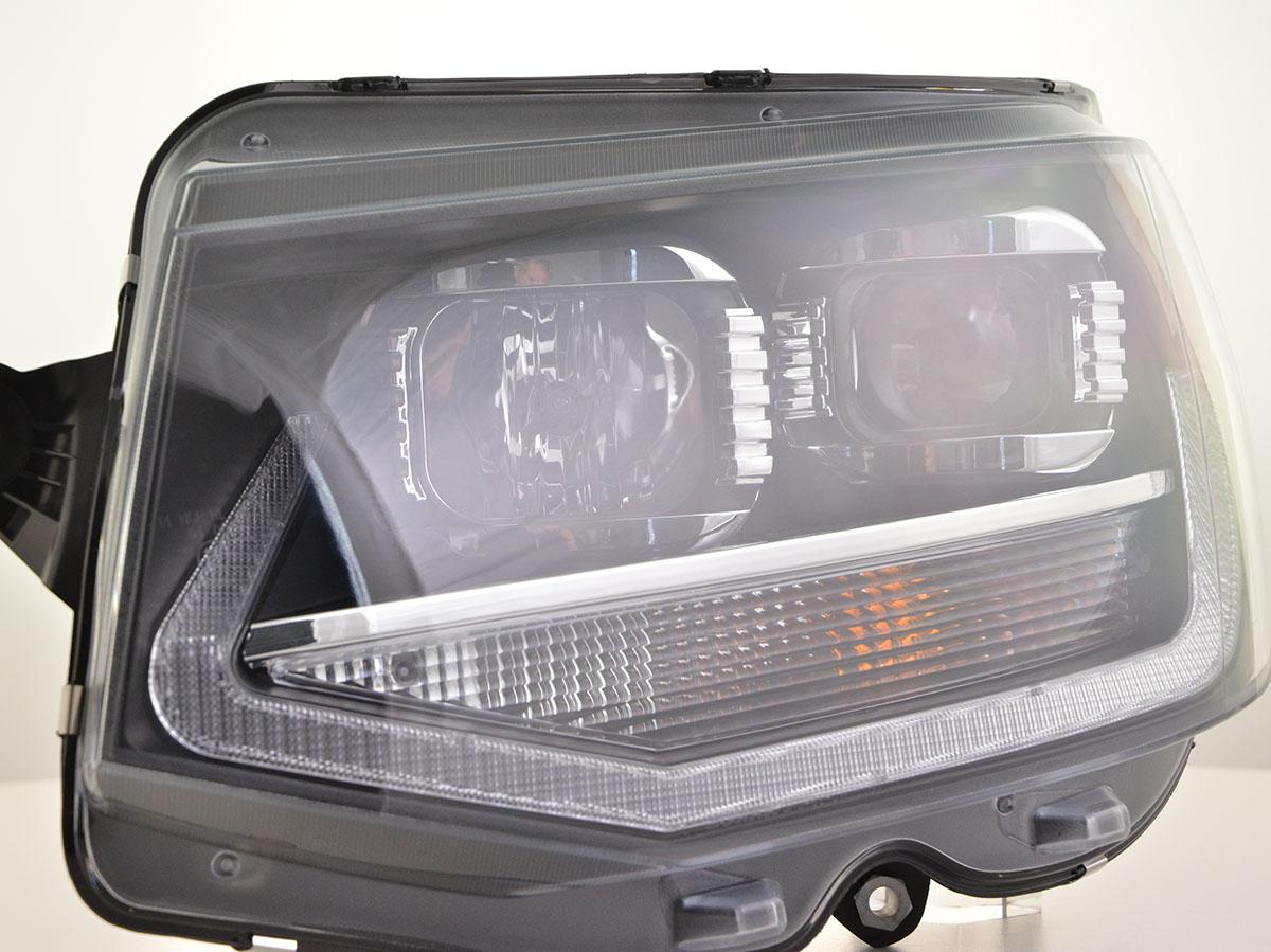 scheinwerfer set daylight led tagfahrlicht vw bus t6 bj. Black Bedroom Furniture Sets. Home Design Ideas