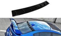 Heckscheiben Spoiler Subaru WRX STI Schwarz Matt
