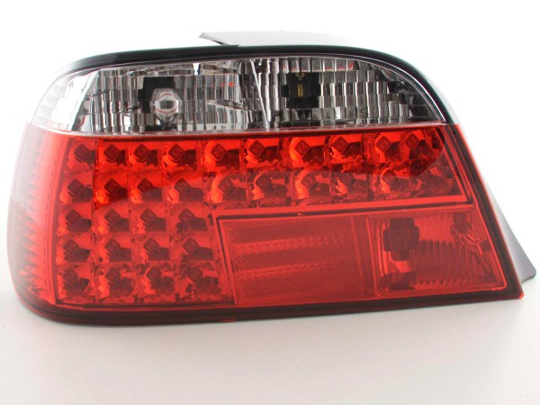 LED Rückleuchten Set BMW 7er Typ E38 Bj. 95- rot/klar