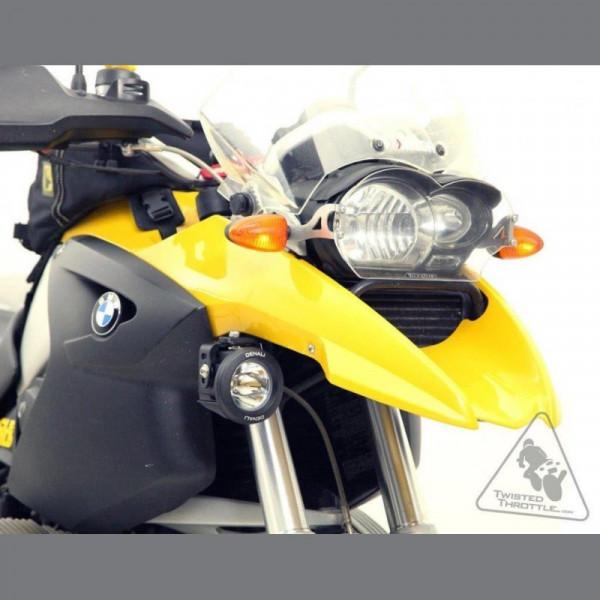 Denali Zusatzscheinwerferhalterung für BMW R 1200 GS 2004-2012 / GSA 2005-2013