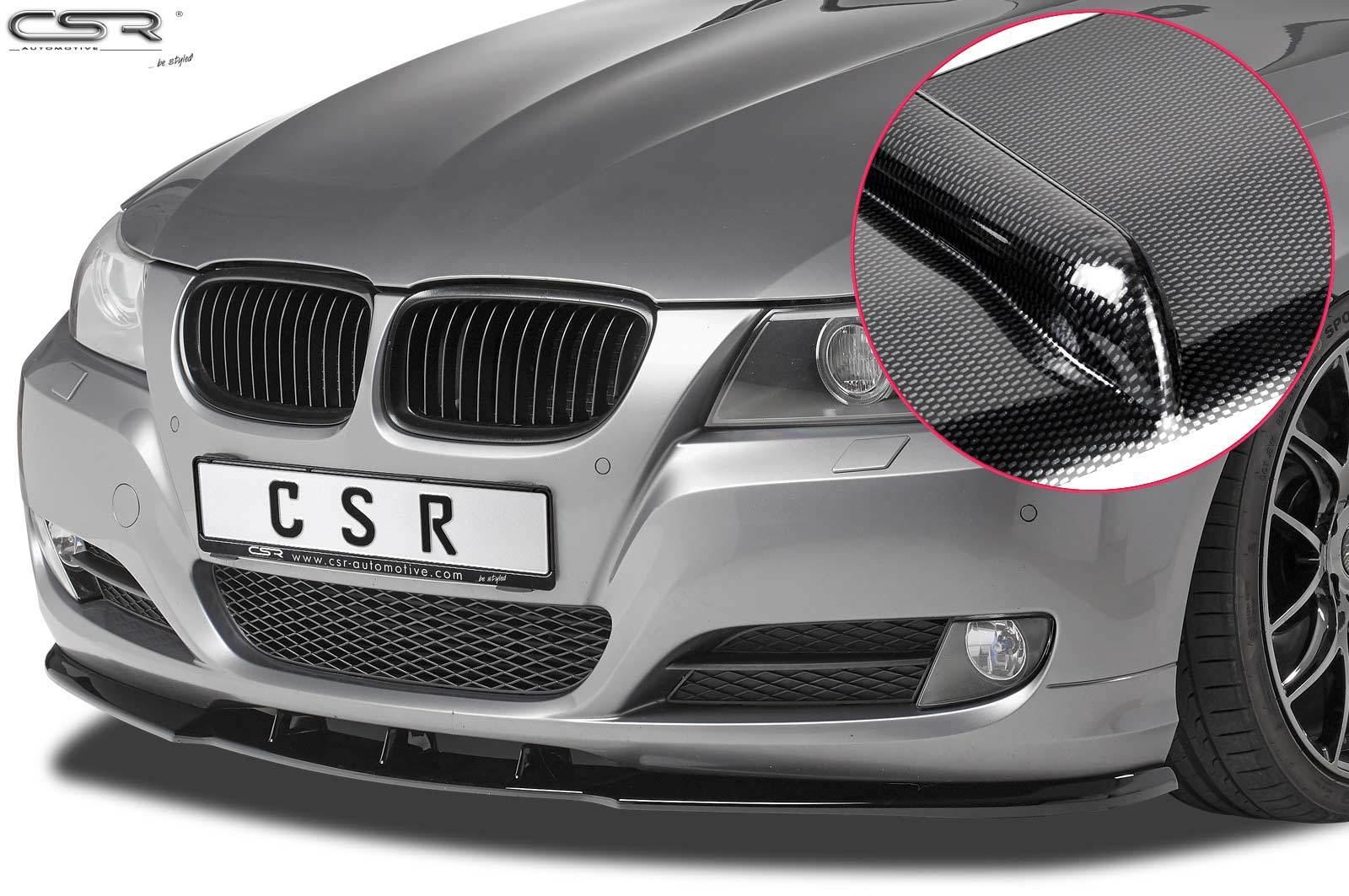 Cup-Spoilerlippe mit ABE für BMW E90 / E91 LCI CSL327-C
