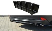 Diffusor Heck Ansatz Passend Für Lexus IS Mk3 Facelift T Schwarz Hochglanz