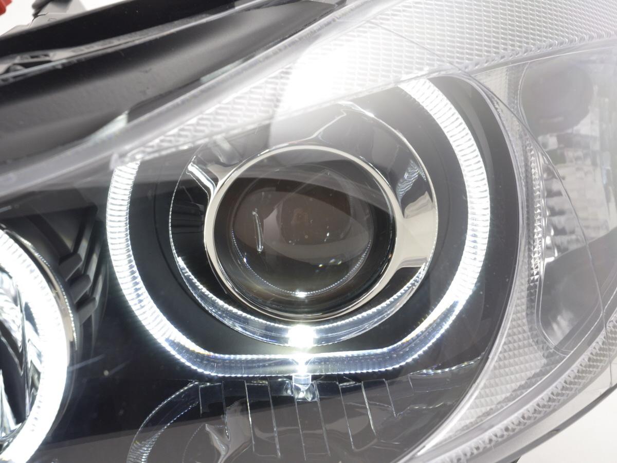 scheinwerfer set angel eyes led bmw 3er e90 e91 bj 2005. Black Bedroom Furniture Sets. Home Design Ideas