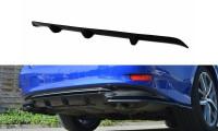 Diffusor Heck Ansatz Passend Für Lexus GS Mk4 Facelift H Schwarz Hochglanz