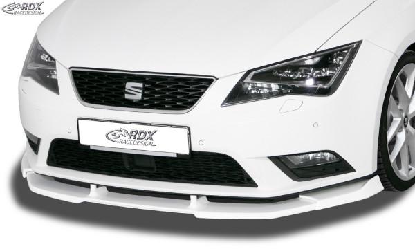 RDX Frontspoiler VARIO-X für SEAT Leon 5F -2017 (auch SC und ST) Frontlippe Front Ansatz Vorne Spoil
