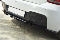 Mittlerer Diffusor Heck Ansatz Für BMW 1er F20/F21 M-Power Im DTM LOOK Schwarz Matt