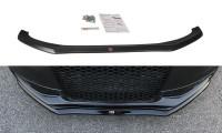Front Ansatz Passend Für V.1 Audi S4 / A4 S-Line B8 FL Schwarz Matt