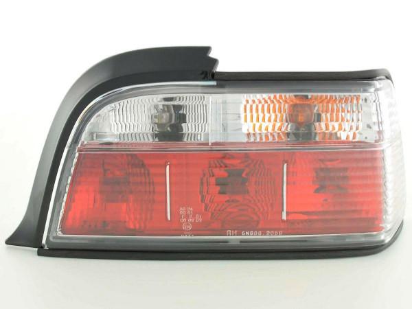 Rückleuchten Set BMW 3er Coupe Typ E36 91-98 weiß