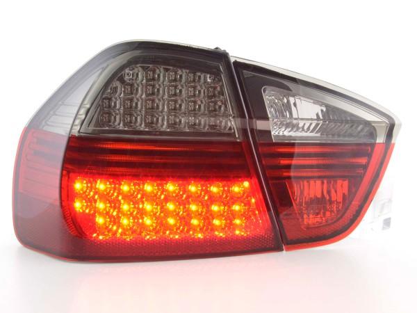 LED Rückleuchten Set BMW 3er Limousine Typ E90 Bj. 05-08 schwarz/rot