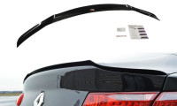 Spoiler CAP Passend Für Renault Laguna Mk 3 Coupe Schwarz Matt