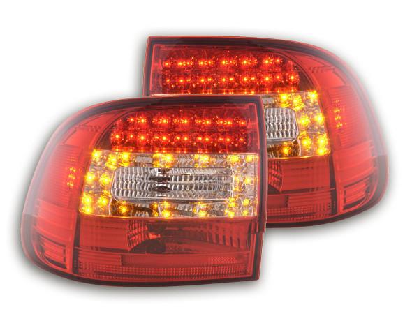LED Rückleuchten Set Porsche Cayenne Typ 955 Bj. 02-06 klar/rot