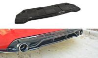 Mittlerer Diffusor Heck Ansatz Passend Für PEUGEOT 308 II GTI Carbon Look