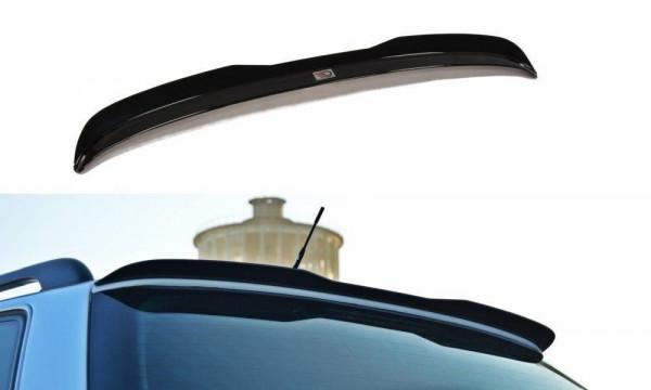 Spoiler CAP Passend Für Audi S4 B5 Schwarz Matt