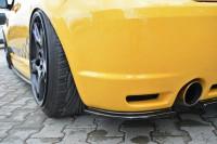 Heck Ansatz Flaps Diffusor Für VW GOLF 4 R32 Carbon Look