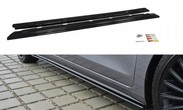 Seitenschweller Ansatz Passend Für Hyundai I30 Mk.2 Carbon Look