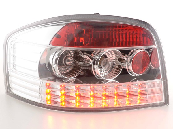 LED Rückleuchten Set Audi A3 Typ 8P Bj. 03-05 chrom