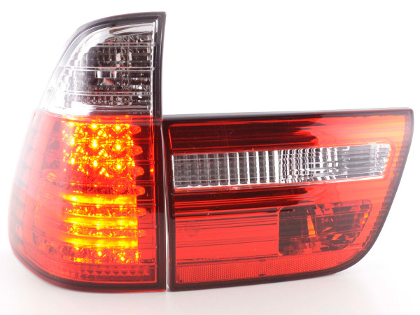 LED Rückleuchten Set BMW X5 Typ E53 98-02 klar/rot