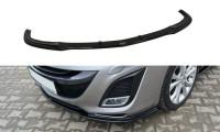 Front Ansatz Passend Für MAZDA 3 MK2 SPORT (vor Facelift) Schwarz Hochglanz