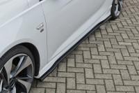 CUP Seitenschweller für Opel Insignia B Sportstourer OPC Line ab 2017- Ausführung: Matt schwarz