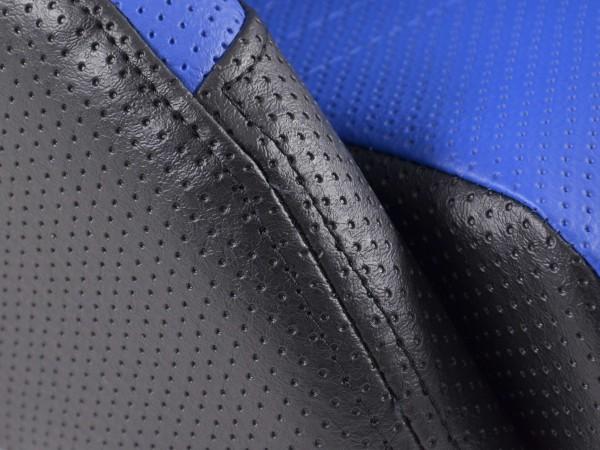 Kinder Kartsitz Seifenkisten Sitz Spielkonsolen Kindersitz Computer Spielsitz schwarz/blau