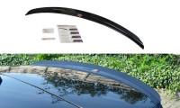 Spoiler CAP Passend Für Lexus NX Preface/Facelift Schwarz Matt