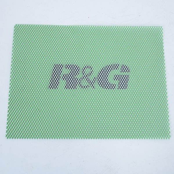 """R&G Racing Kühlergitter """"GREEN"""" Universal Gitter 40,6 x 30,5 cm"""