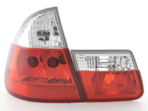 Rückleuchten Set BMW 3er Touring Typ E46 99-02 weiß/rot